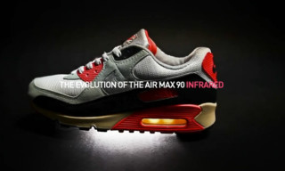 Video: The Evolution of Nike Air Max 90 Infrared by Afew-Store