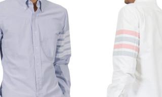 Thom Browne Oxford Sleeve Stripe Shirts Spring/Summer 2013