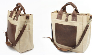 Workers NYC the Waxed Cotton Duck Canvas 'SoHo Bag'