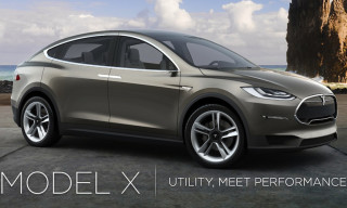 Introducing the 2014 Tesla Motors Model X