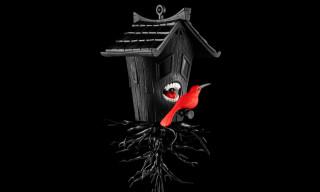 Kidrobot Black x Blaine Fontana 'Domestic Hunger' Figure