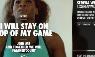 Nike+ Unveils New Interactive Video for #makeitcount Campaign