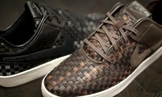 55388d062561 Nike Courtside Woven NSW - Black Black   Brown Brown