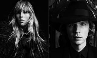 Saint Laurent Spring/Summer 2013 Campaign Starring Beck Hansen & Edie Campbell