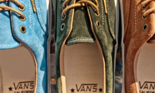 Vans California Collection Spring 2013 Suedes Pack