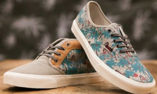 Vans California Spring 2013 'Hula Camo' Pack – Authentic & Chukka