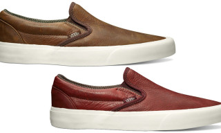 Vans California Spring 2013 'Tudor Leather' Pack