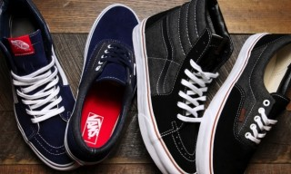 Vans Era and Sk8-Hi 'Suede & Denim' Classics