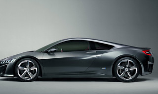 Acura Debuts The Updated NSX Hybrid Supercar Concept in Detroit