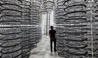 "Ai Weiwei's ""Stacked"" – An Installation Consisting of 760 Bikes"