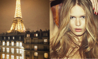 Anna Ewers by Pierre Dal Corso 'A Night In Paris'