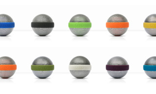 'Ballo' Portable Stereo Speakers by Bernhard Burkard for OYO