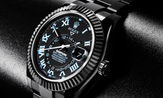 Bamford Watch Department Unleashes World's First Customized Rolex Sky-Dweller
