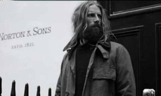 Barbour Beacon Heritage x Norton & Sons Fall/Winter 2013