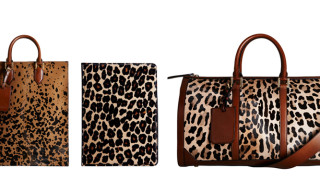 Burberry Prorsum 2013 Fall/Winter Leopard Print Accessories
