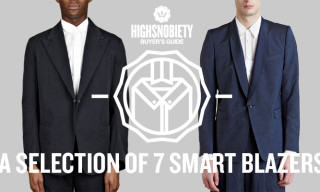 Buyer's Guide: A Selection of 7 Smart Blazers
