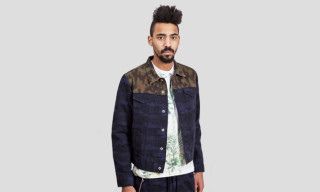 Dries Van Noten Camouflage Denim Jacket