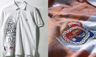 Fred Perry x Dover Street Market 60th Anniversary Customization Project Feat. Medicom Toy, Stussy, Raf Simons, Wood Wood