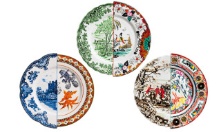 Handcrafted Hybrid Dinnerware by CtrlZak for Seletti