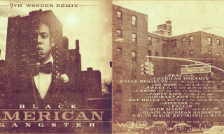 "Mixtape: 9th Wonder x Jay-Z – ""Black American Gangster"""