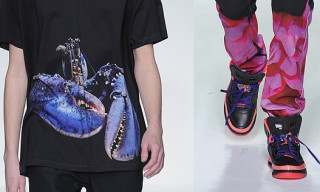 Katie Eary Fall 2013 Collection – Blue Lobsters, Pink Roses & Jordan Spizikes