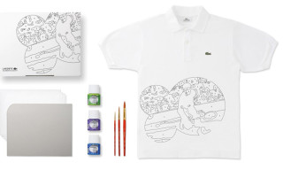 Lacoste 80 Years Anniversary Polo Shirt DIY Customizing Kit