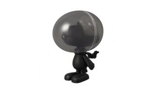 "Medicom x Special Product Design ""Black Peanuts"" Astronaut Snoopy Figurine"