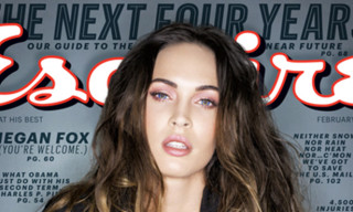 Megan Fox Covers Esquire Magazine February 2013 Issue