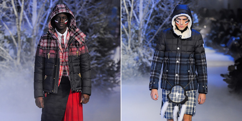 Moncler Gamme Bleu Fall/Winter 2013 Collection