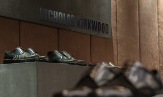 Nicholas Kirkwood Launches Luxury Men's Shoe Line