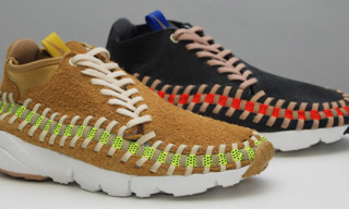 Nike Footscape Woven Chukka Knit 'Flat Gold' & 'Night Stadium'