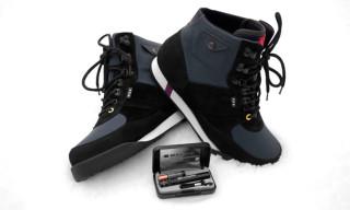 Patta x KangaROOS Slantback Hiking Boot and Maglite