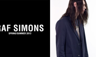 Video: Raf Simons Spring/Summer 2013 Campaign