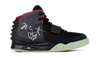 Win A Limited Edition Nike Air Yeezy 2 Sneaker, Signed & Worn by Kanye West and Help the Hurricane Sandy Victims