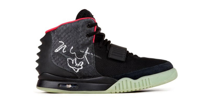 Win A Limited Edition Nike Air Yeezy 2 Sneaker, Signed ...