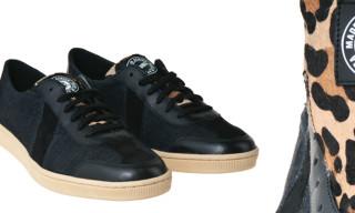 SAWA x Public Enemy 'Dr. Bess' Black and Leopard Sneaker