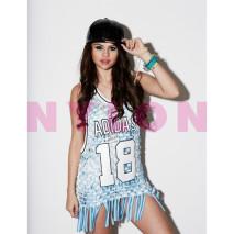 Selena Gomez NYLON Cover in Jeremy Scott by adidas ...