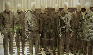 Valentino Teams Up With Artist Liu Bolin For Its New Camouflage Collection