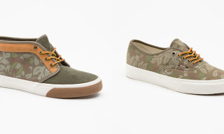 Vans California Spring 2013 Floral Camo Pack