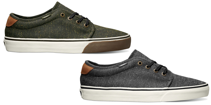 451d27ce89cb59 high-quality Vans California Tweed Pack Collection for Spring 2013  Highsnobiety