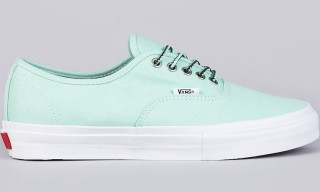 "Vans Syndicate x Mike Hill Authentic Pro ""S"" – Mint/Vanilla"