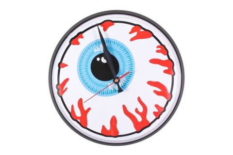 Amazing Mishka releases this uKeep Watch u wall clock in hopes of adding a uccreepy totalitarian government ud feel to your home decor It works as an ucobjet d u art ud