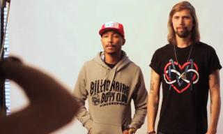 Pharrell Williams & Pedro Winter Cover OFIVE MAG #3 – Shot by Dimitri Coste