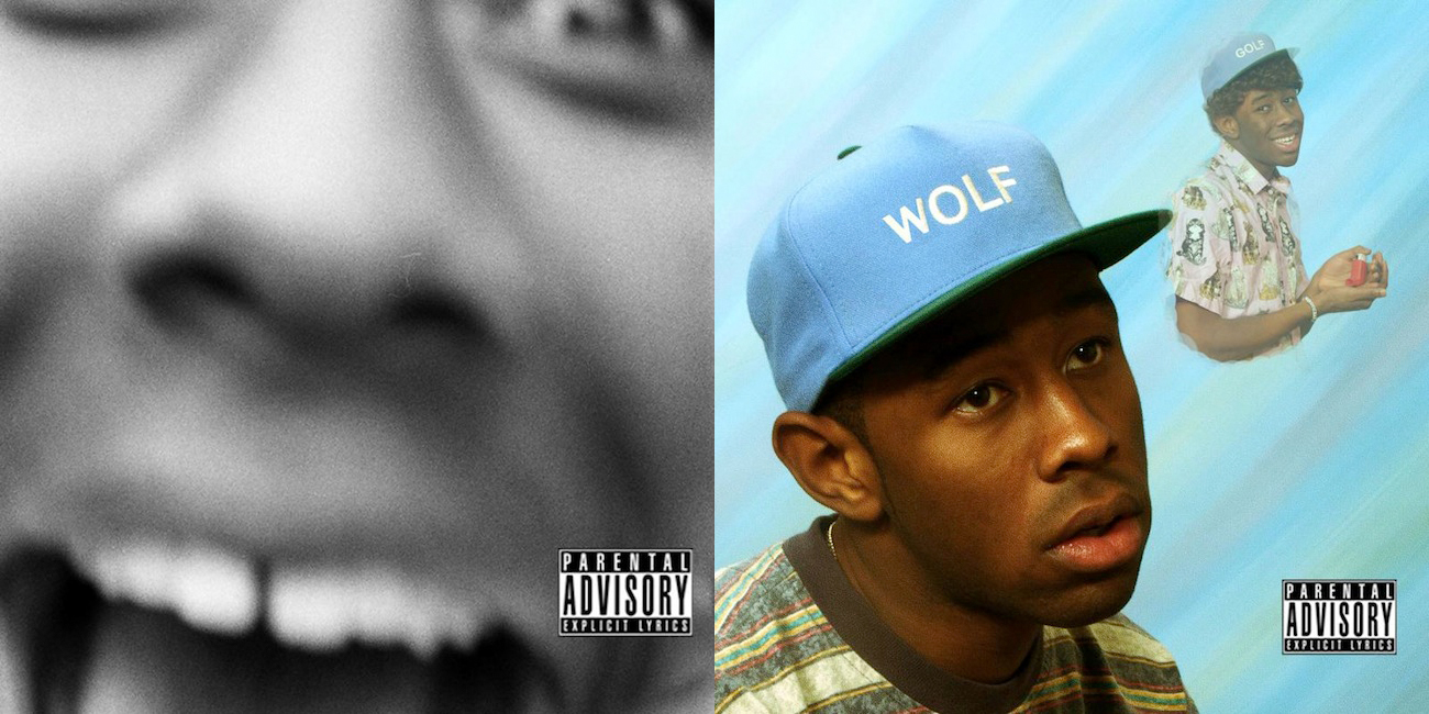 tyler the creator unveils quotwolfquot album covers announces