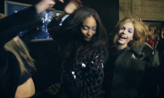 "The ""Harlem Shake"" Supermodel Edition – Cara Delevingne, Jourdan Dunn & Rosie Tapner"