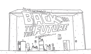 "Watch ""Back to the Future"" in 60 Seconds with This Animated Clip by 1A4 Studio"