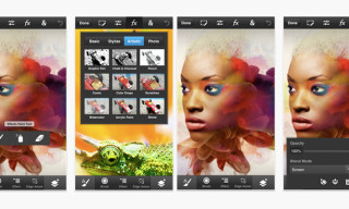 Adobe Photoshop Touch for the iPhone & iPod Touch