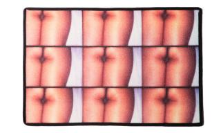 """Angelo Baque's """"Hugs & Kisses"""" Doormat for 212"""