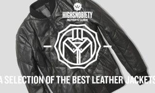 Buyer's Guide: A Selection of the Best Leather Jackets