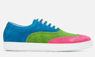COMME des GARCONS SHIRT Colourblocked Brogue Sneaker